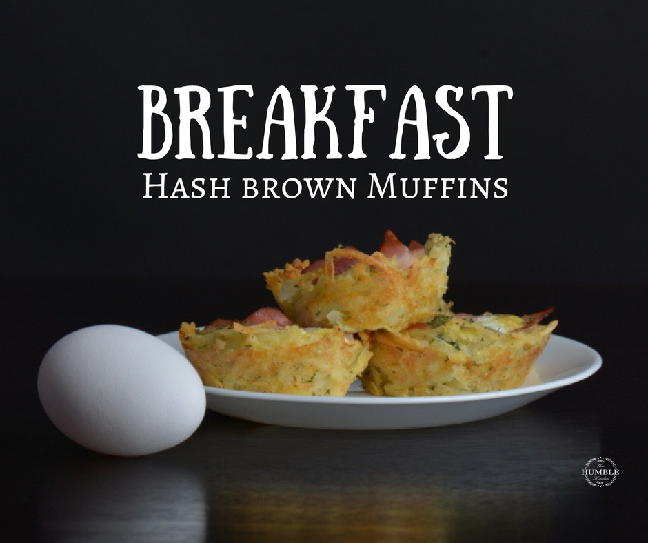 Breakfast hash brown muffins