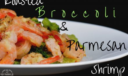 Roasted Broccoli and Parmesan Shrimp Recipe