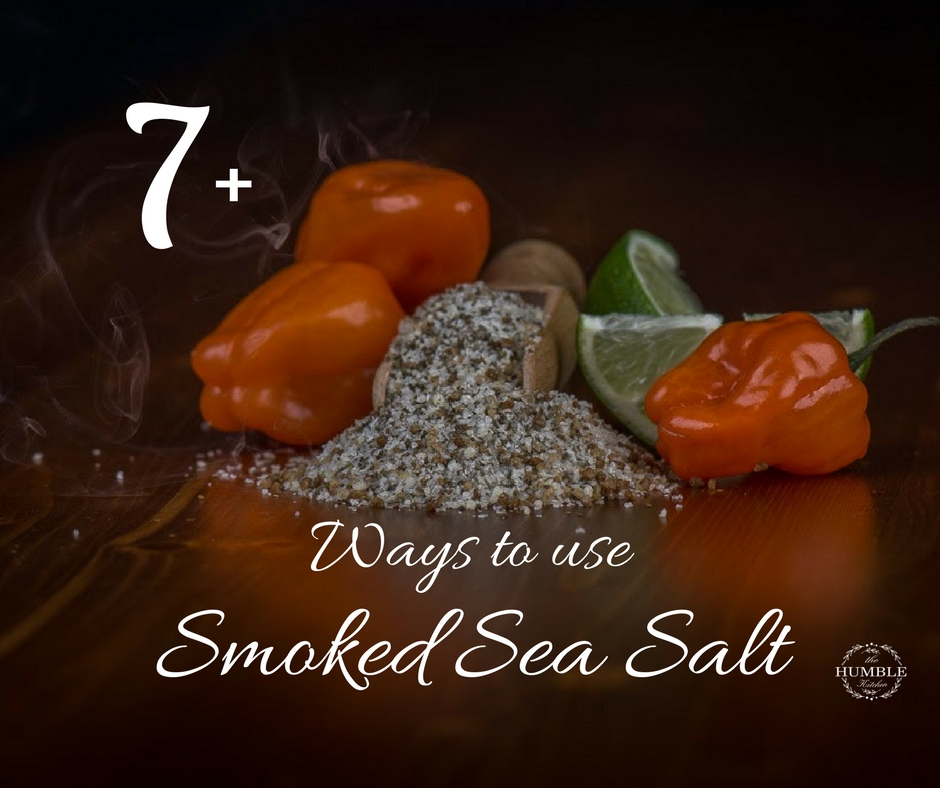 Smoked Sea Salt habaneros and lime