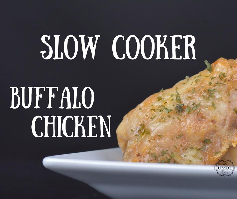 Slow cooker buffalo chicken recipe